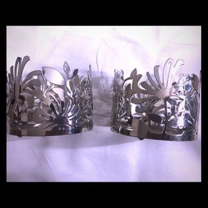 2- Bath & Body Works Candle Holders